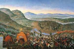 La Battaglia di Vienna il 12 settembre 1683